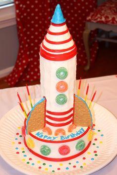 rocket cake