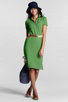 Cute polo dress from Lands' End