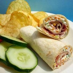 Ham n Cheese Rollups