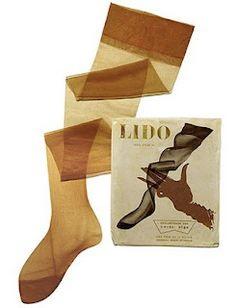 nylons; only when you were a teenager though!