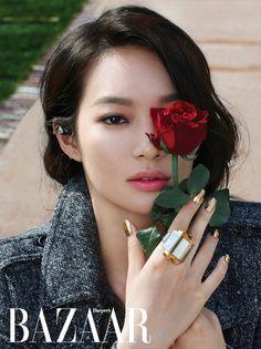 fall fashions, gold nails, korean makeup, queen, cinema