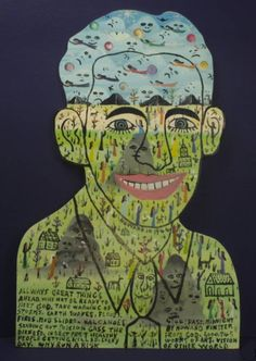 accidental mysteries: Howard Finster: Man of Visions