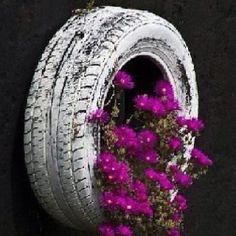 Recycle those old tires