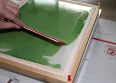 diy screen printing, I've always wanted to do this!