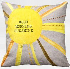 Sunshine Pillow Cover