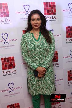 Lissy Priyadarshan At Frizzda Salon Launch