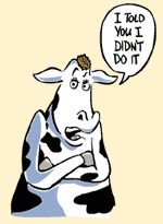 The cow belonging to Mrs. Catherine O'Leary looks suspicious to me! :)