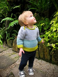 Bluebell Pullover by Kate Gagnon Osborn