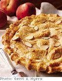 Peach Pie with Double Cinnamon-Almond Crust