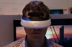 Sony HMZ-T2 3D display, heads-in (video) -- Engadget - totally makes me think of TRON