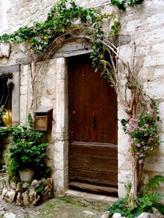 lovely arched entry