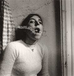 Francesca Woodman - 'Self Portrait Talking to Vince', 1975–78.