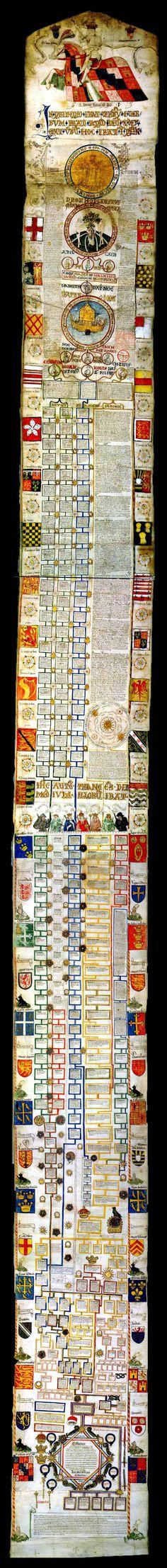 The Edward IV Roll (Free Library of Philadelphia, Lewis MS E201)