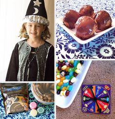 """5 Magical Harry Potter Snacks -- love the """"dragon blood"""" drink idea!"""