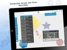 Conojo Whiteboard - a nice iPad app for drawing lessons and brainstorming ideas