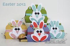 bunny punch art treat holder - bjl