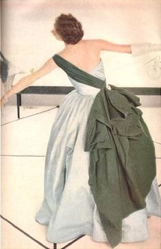 1952, Ceil Chapman in a Charles James?