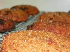 Giant Salted Pumpkin Chocolate Chunk cookies - Satisfying (THM)
