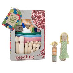 make your own family set... I think I could set up my own kit for Ella. This one is $40 bucks at Uncommon Goods