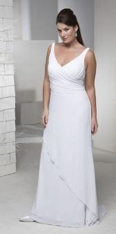 Destination wedding dresses on pinterest destination for Plus size wedding dresses in atlanta