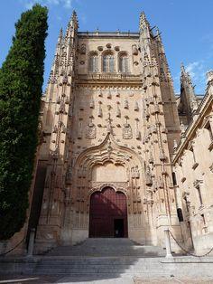 South Door,  New Cathedral Salamanca,   #CastillayLeon #Spain