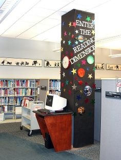 science area of a library