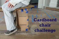 DIY: Take the Cardboard Chair Challenge