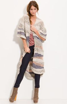 Love the long cardigan