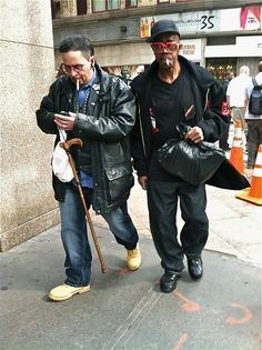Two Men on 35th Street