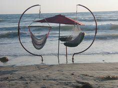 Beach Swing C Frame. $350.00, via Etsy.
