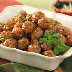 Sweet 'n' Sour Appetizer Meatballs