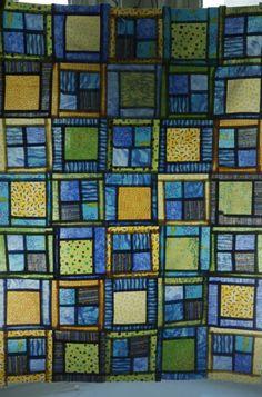 quilti thing, beauti quilt, quilt idea, mosaic quilt, magnifici quilt