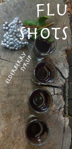 Elderberries for the Flu @ Traditional-Foods.com