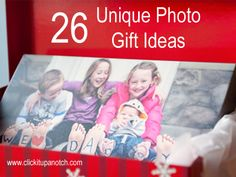26 Unique Photo Gift ideas
