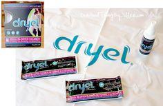 DIY Dryel sheets
