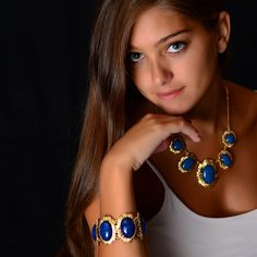 Amrita Singh   Hera Bracelet and Necklace