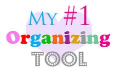 The O.C.D. Life: The Organizing Tool I CAN NOT Live Without!