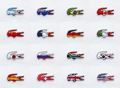 London Olympic Games ~ Lacoste Polo Flag!