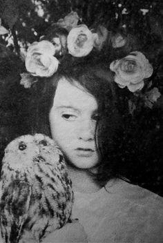 Girl with an Owl.