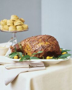 Martha Stewart's Traditional Easter Menu