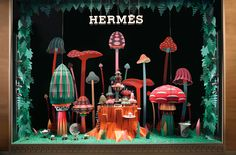 Hermès window displa