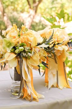sunny yellow bouquets