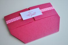 Diaper Baby Shower Invitations for Girl by MyCreativeGarden