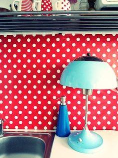 Diseño de cocinas en rojo