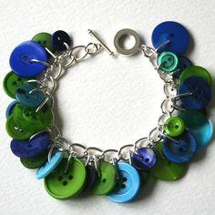 Cute! A button bracelet!