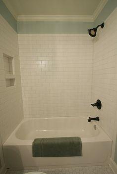 white tile/paint