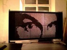 SUN_D: World's first daylight-display prototype in action