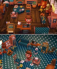 Animal Crossing: New Leaf White Dot Pattern Fabric QR Code #tobimori #animalcrossing #qrcode