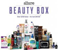 Allure Fall 2014 Beauty Box Revealed! | My Subscription Addiction