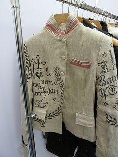 German Grain Sack Jacket